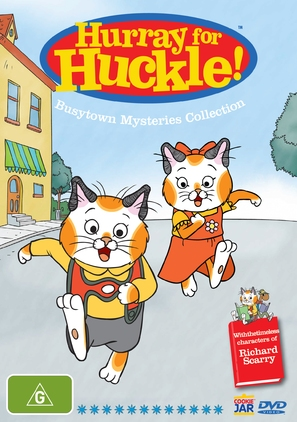 """""""Busytown Mysteries (Hurray for Huckle!)"""" - Australian DVD movie cover (thumbnail)"""