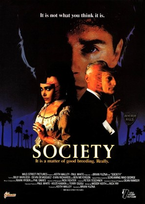 Society - Movie Poster (thumbnail)
