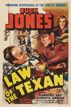 Law of the Texan - Movie Poster (thumbnail)