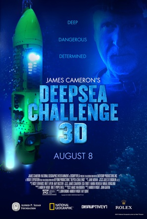 Deepsea Challenge 3D - Movie Poster (thumbnail)