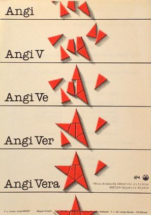 Angi Vera - Hungarian Movie Poster (thumbnail)