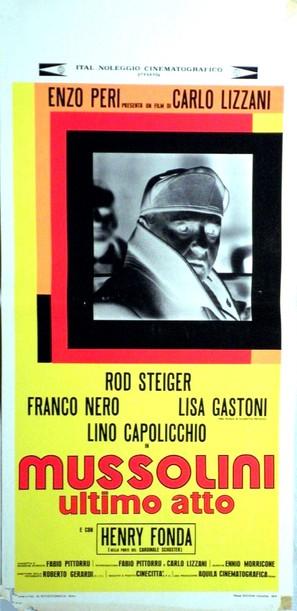 Mussolini ultimo atto