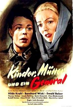 Kinder, Mütter und ein General - German Movie Poster (thumbnail)