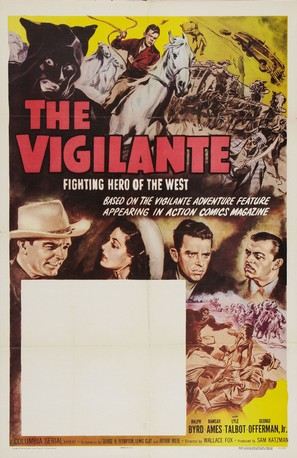 The Vigilante: Fighting Hero of the West - Re-release movie poster (thumbnail)