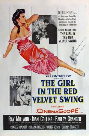 The Girl in the Red Velvet Swing - Movie Poster (thumbnail)