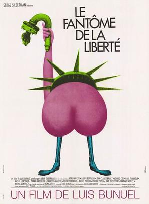 La fantôme de la liberté - French Movie Poster (thumbnail)