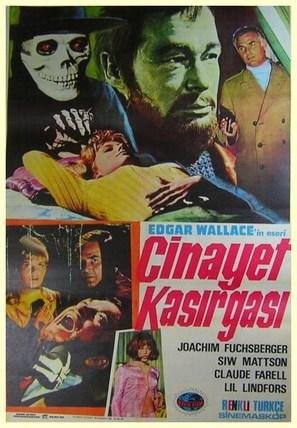 Im Banne des Unheimlichen - Turkish Movie Poster (thumbnail)