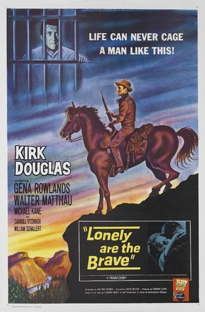 Lonely Are the Brave - Movie Poster (thumbnail)
