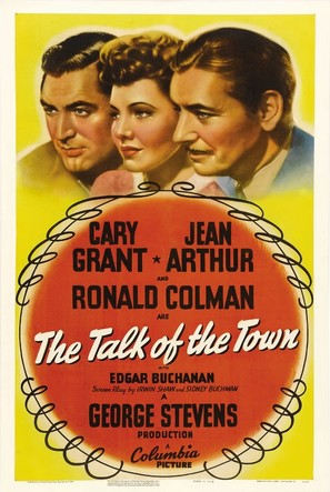 The Talk of the Town - Movie Poster (thumbnail)