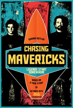 Chasing Mavericks - Movie Poster (thumbnail)