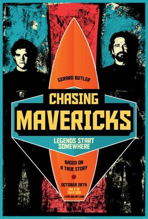 Chasing Mavericks - Movie Poster (thumbnail)