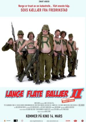Lange flate ballær II - Norwegian poster (thumbnail)