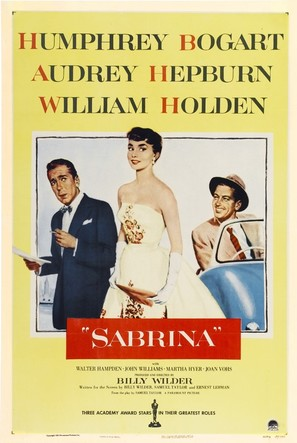 Sabrina - Theatrical movie poster (thumbnail)