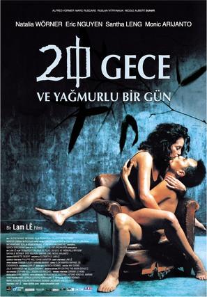20 nuits et un jour de pluie - Turkish poster (thumbnail)
