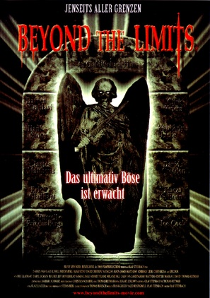 Beyond the Limits - German Movie Cover (thumbnail)