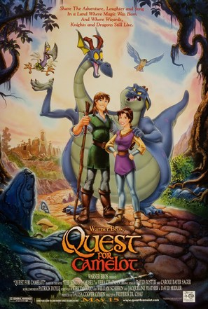Quest for Camelot - Advance movie poster (thumbnail)