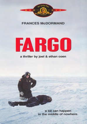Fargo - DVD movie cover (thumbnail)