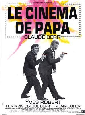 Le cinéma de papa - French Movie Poster (thumbnail)