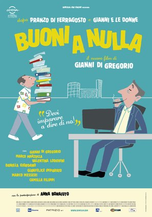 Buoni a nulla - Italian Movie Poster (thumbnail)