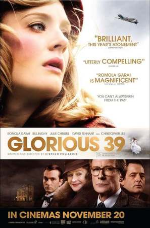 Glorious 39 - British Movie Poster (thumbnail)