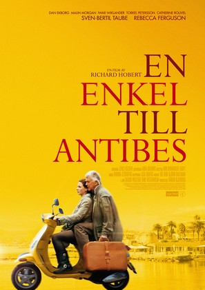 En enkel till Antibes - Swedish Movie Poster (thumbnail)