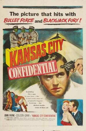 Kansas City Confidential - Movie Poster (thumbnail)