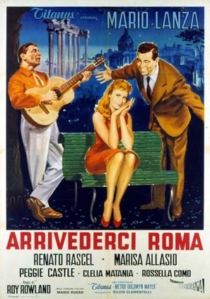 Arrivederci Roma - Italian Movie Poster (thumbnail)