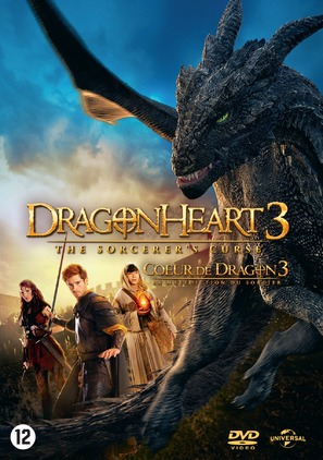 Dragonheart 3: The Sorcerer's Curse - Dutch DVD movie cover (thumbnail)