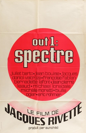 Out 1: Spectre - French Movie Poster (thumbnail)