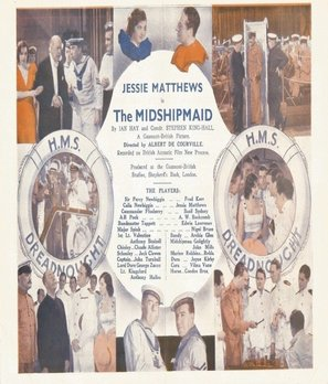 The Midshipmaid - British Movie Poster (thumbnail)