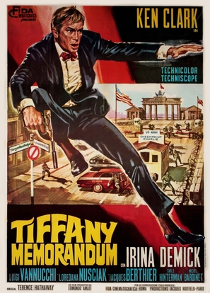 Tiffany memorandum - Italian Movie Poster (thumbnail)