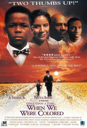 Once Upon a Time... When We Were Colored - Movie Poster (thumbnail)