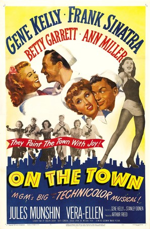 On the Town - Movie Poster (thumbnail)