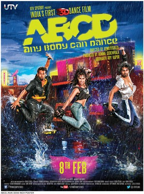 ABCD (Any Body Can Dance) - Indian Movie Poster (thumbnail)