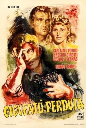 Gioventù perduta - Italian Movie Poster (thumbnail)