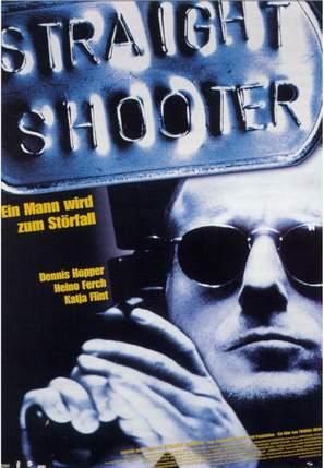 Straight Shooter - German Movie Poster (thumbnail)