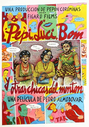 Pepi, Luci, Bom y otras chicas del montón - Spanish Movie Poster (thumbnail)