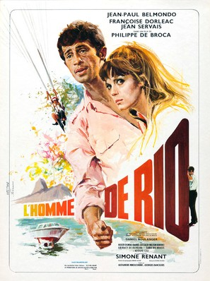 L'homme de Rio - French Movie Poster (thumbnail)