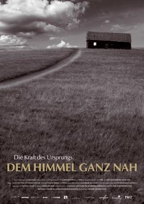 Dem Himmel ganz nah - German Movie Poster (thumbnail)