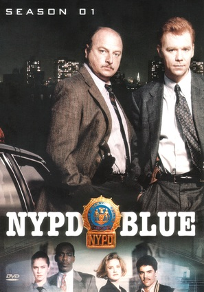 """NYPD Blue"" - DVD movie cover (thumbnail)"
