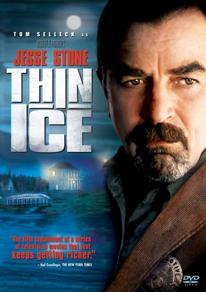 Jesse Stone: Thin Ice - DVD cover (thumbnail)