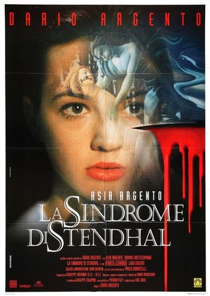 La sindrome di Stendhal - Italian Movie Poster (thumbnail)