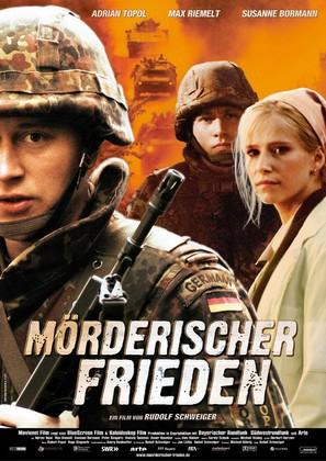 Mörderischer Frieden - German poster (thumbnail)