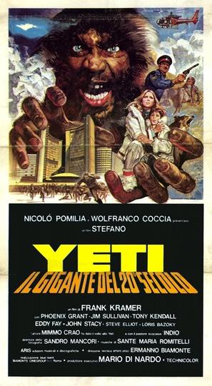Yeti - il gigante del 20. secolo - Italian Movie Poster (thumbnail)