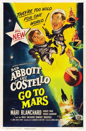 Abbott and Costello Go to Mars - Movie Poster (thumbnail)