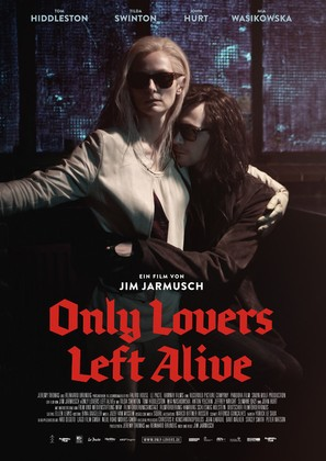 Only Lovers Left Alive - German Movie Poster (thumbnail)