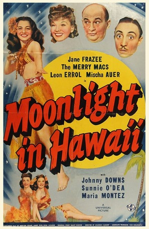 Moonlight in Hawaii - Movie Poster (thumbnail)
