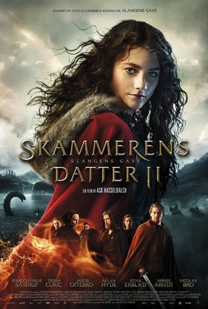 Skammerens Datter II: Slangens Gave - Danish Movie Poster (thumbnail)