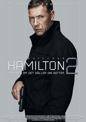 Hamilton 2: Men inte om det gäller din dotter - Swedish Movie Poster (thumbnail)