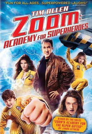 Zoom - DVD movie cover (thumbnail)